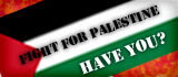 Banner Fight For Palestine